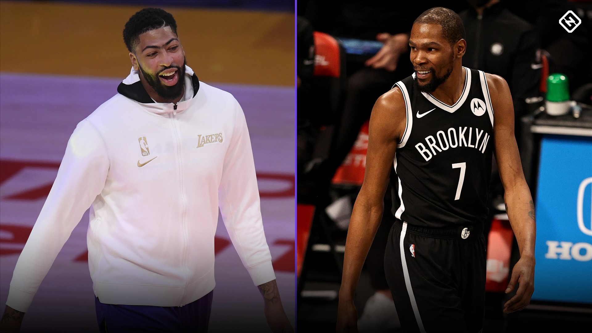 Why Kevin Durant, Anthony Davis are sitting out Nets vs. Lakers game