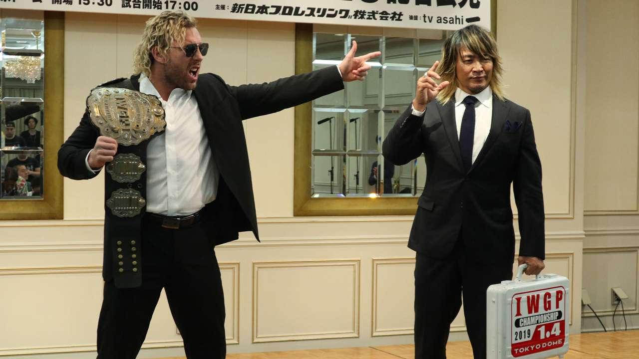 新日本プロレス 1・4東京ドーム大会 棚橋弘至 ケニー・オメガ