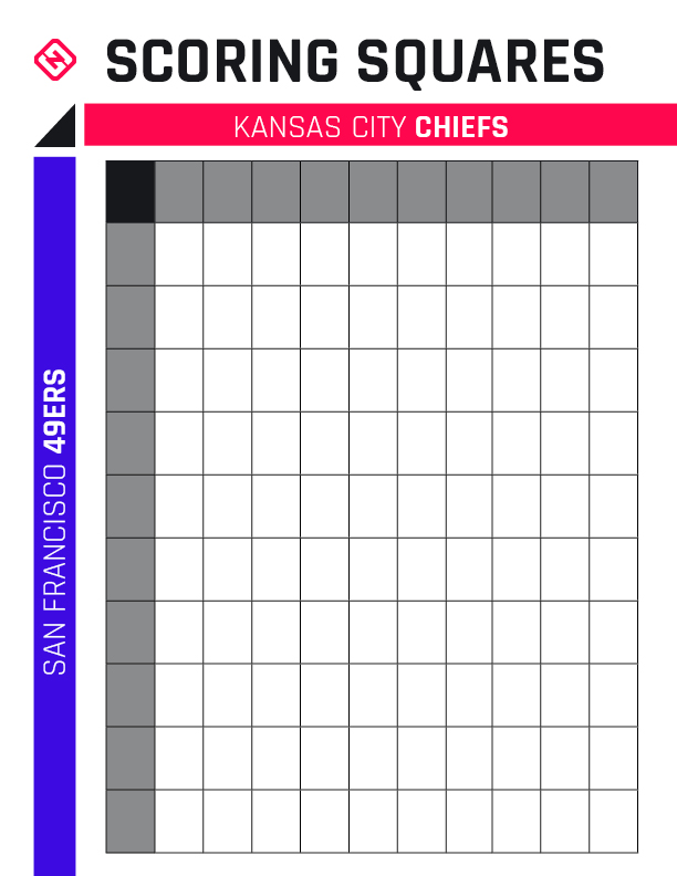 It is a graphic of Printable Super Bowl Boxes pertaining to fundraiser