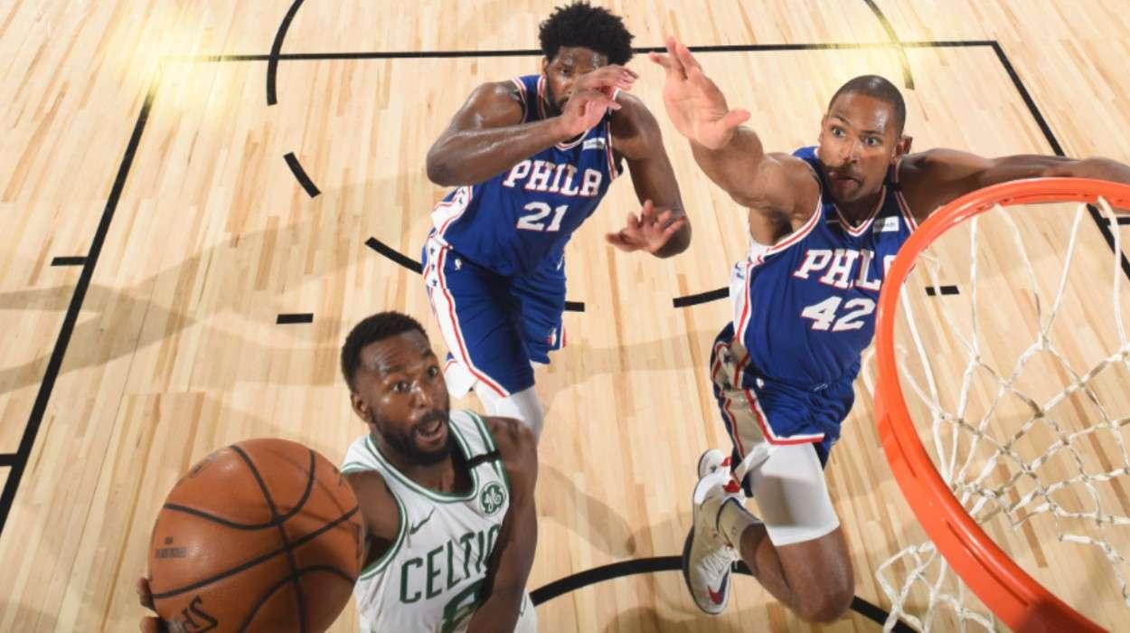 Al Horford Philadelphia 76ers Joel Embiid Philadelphia 76ers Kemba Walker Boston Celtics