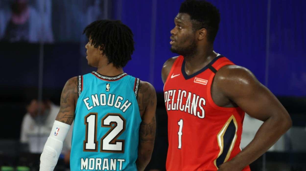 Ja Morant Memphis Grizzlies Zion Williamson New Orleans Pelicans