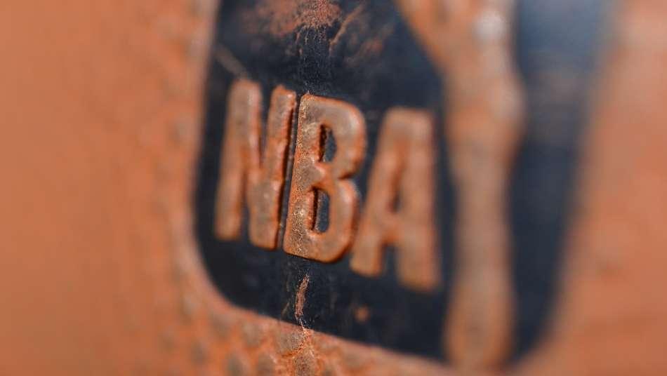 NBA official ball logo