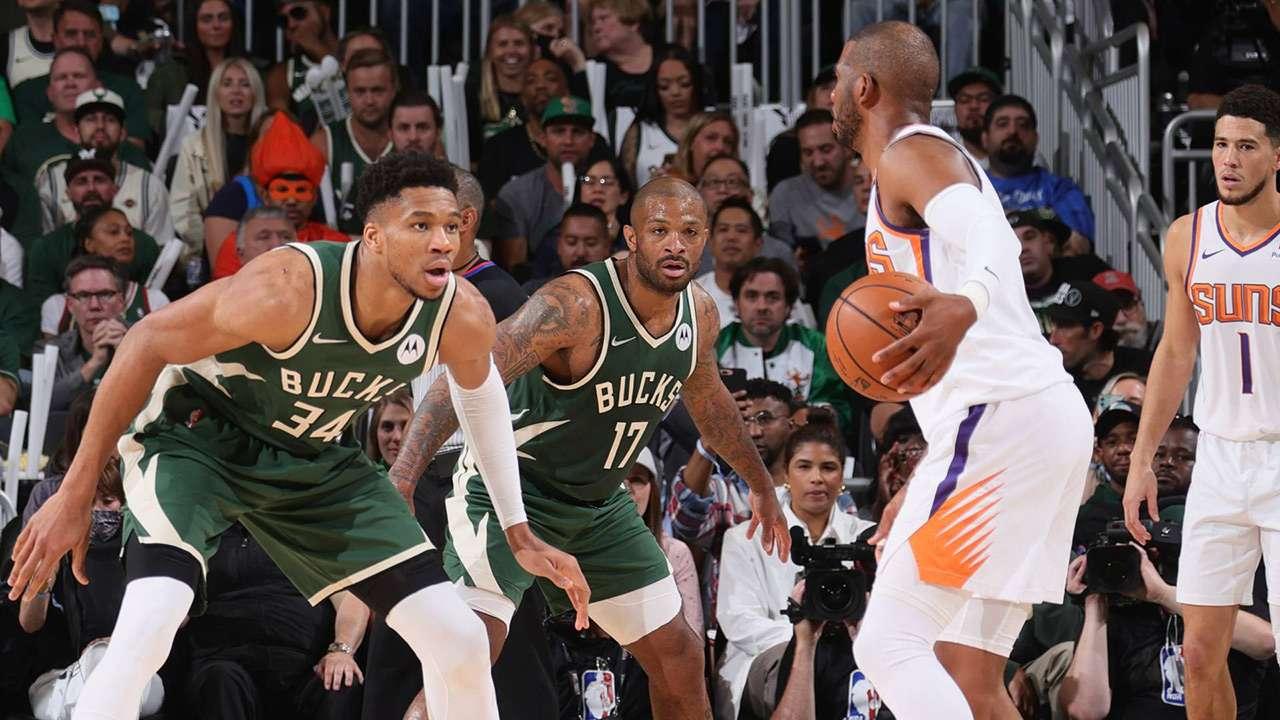 Bucks vs Suns