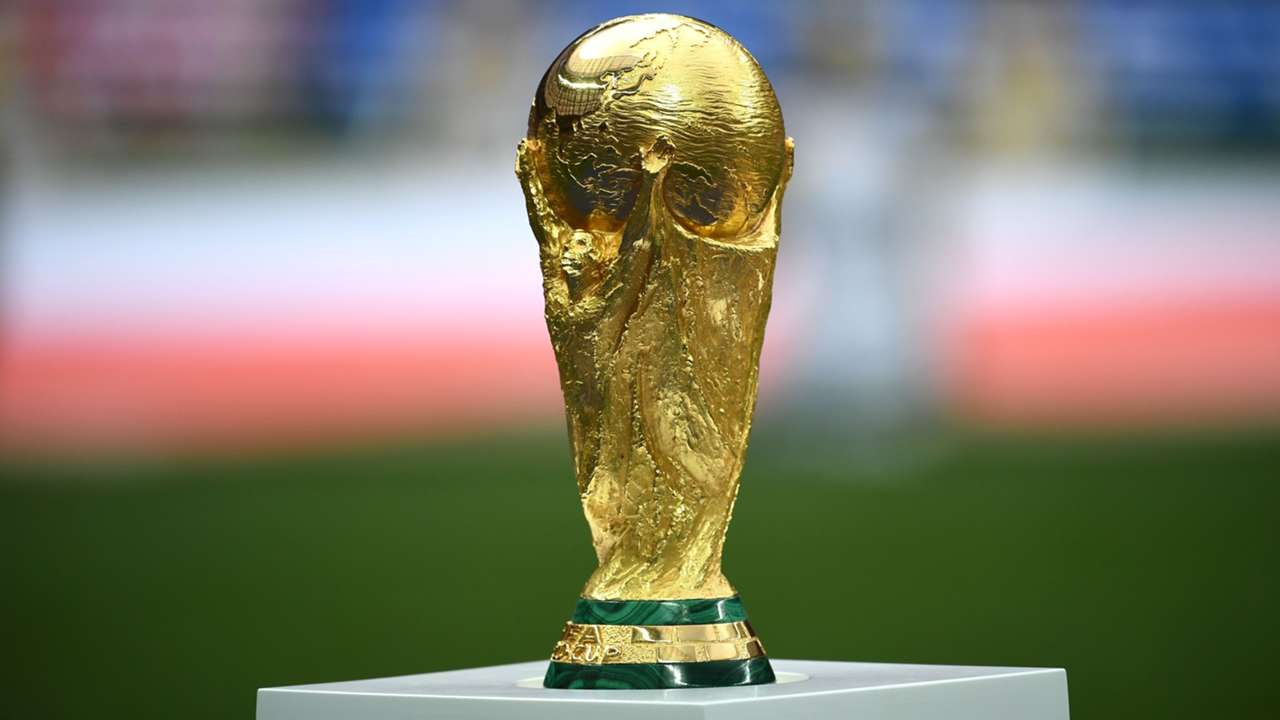 World Cup trophy - stand