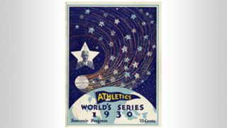 1930 World Series program
