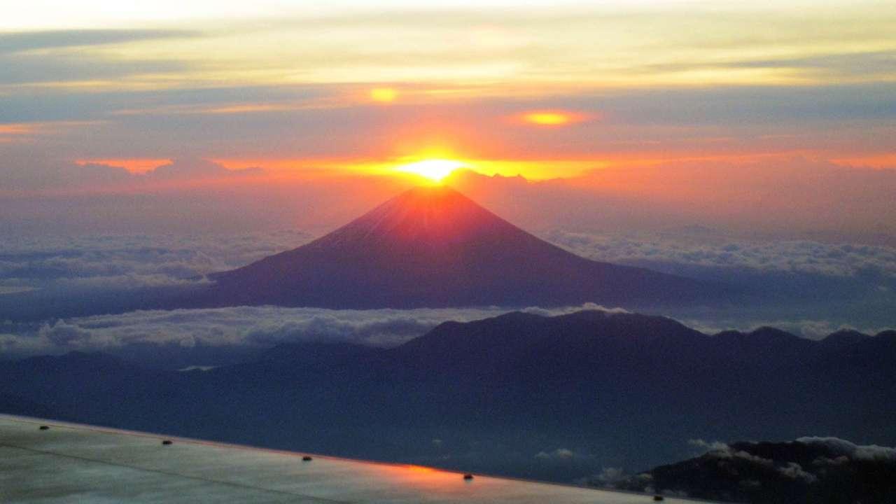 あけましておめでとう Mt.Fuji