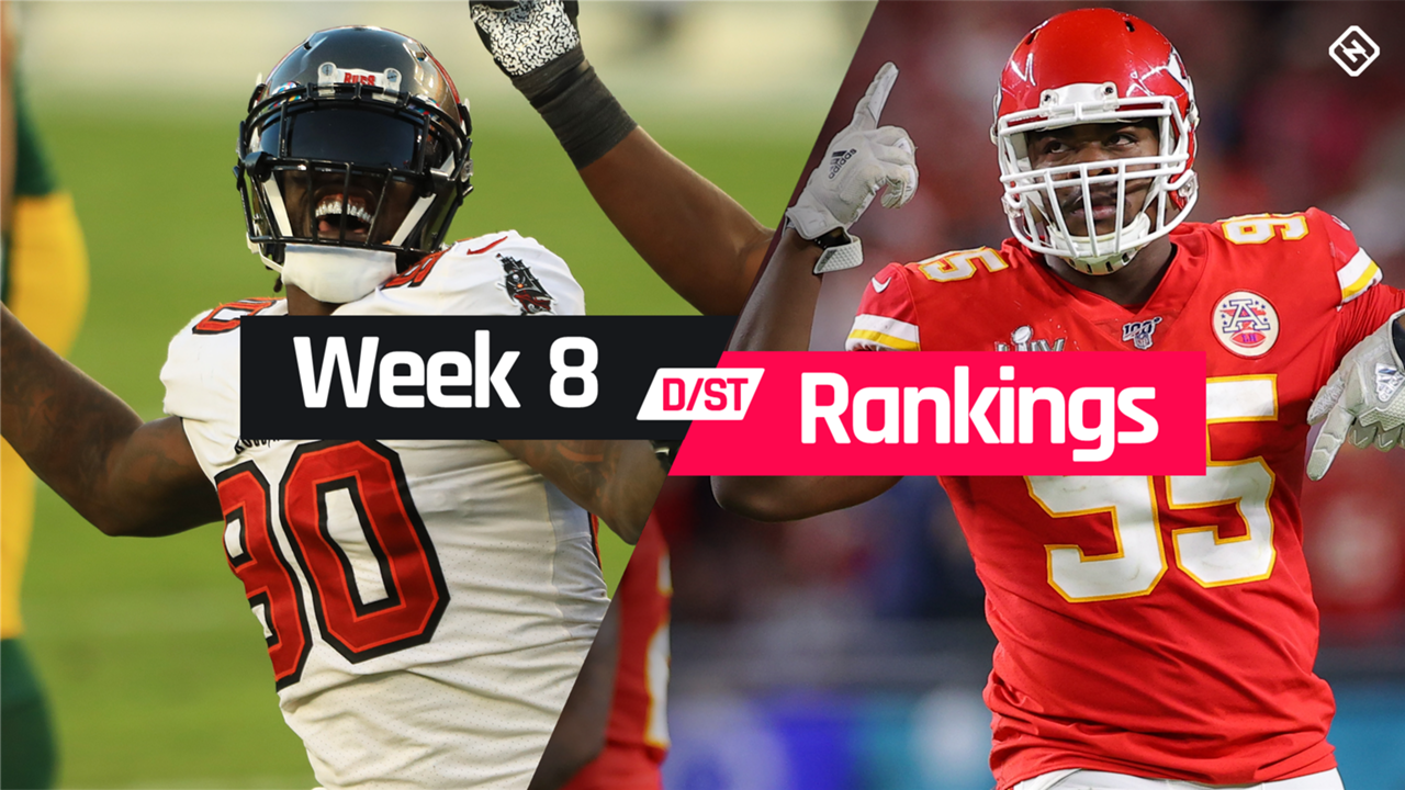 Week 8 Fantasy Defense Rankings Sleepers Busts Waiver Wire D St Streamers To Target Sporting News