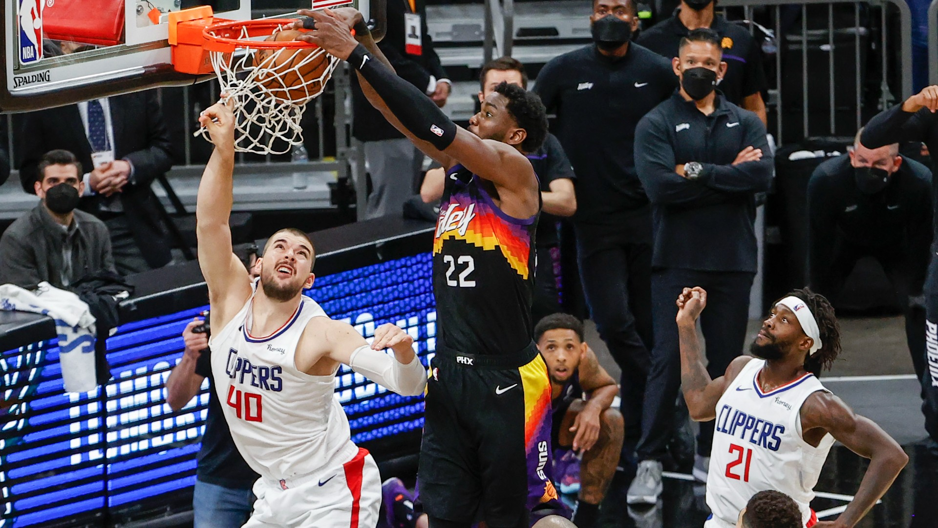 How Suns perfectly executed game-winning play — and why goaltending didn't apply on Deandre Ayton's dunk