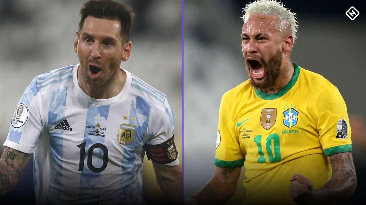 Messi - Neymar - Copa America 2021 Final
