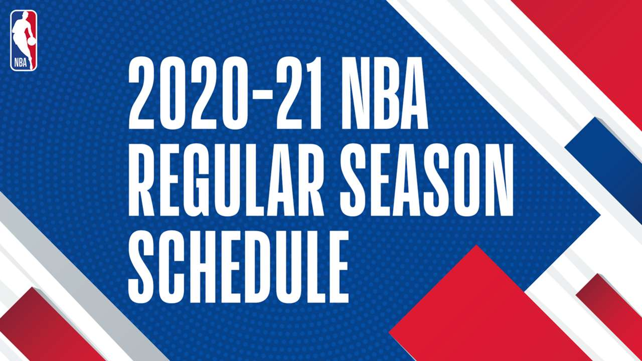 NBA 2020-21 season schedule