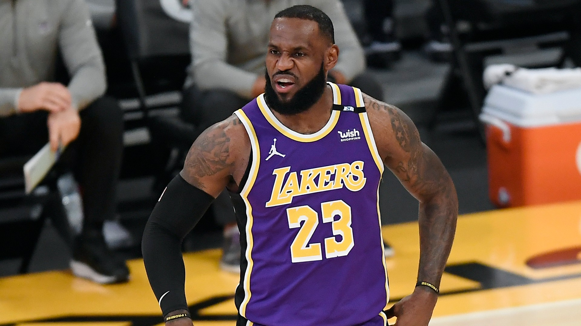 LeBron James rails against NBA in tweet tirade amid glut of star player injuries in playoffs...