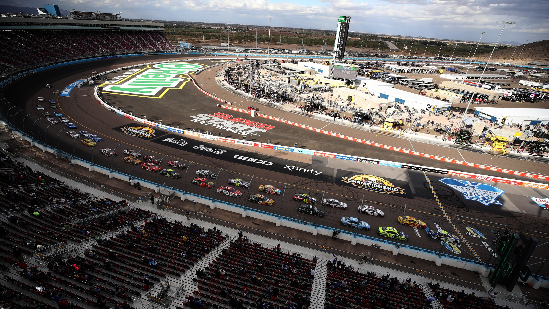 Who won the NASCAR race yesterday? Complete results from Sunday's Phoenix race