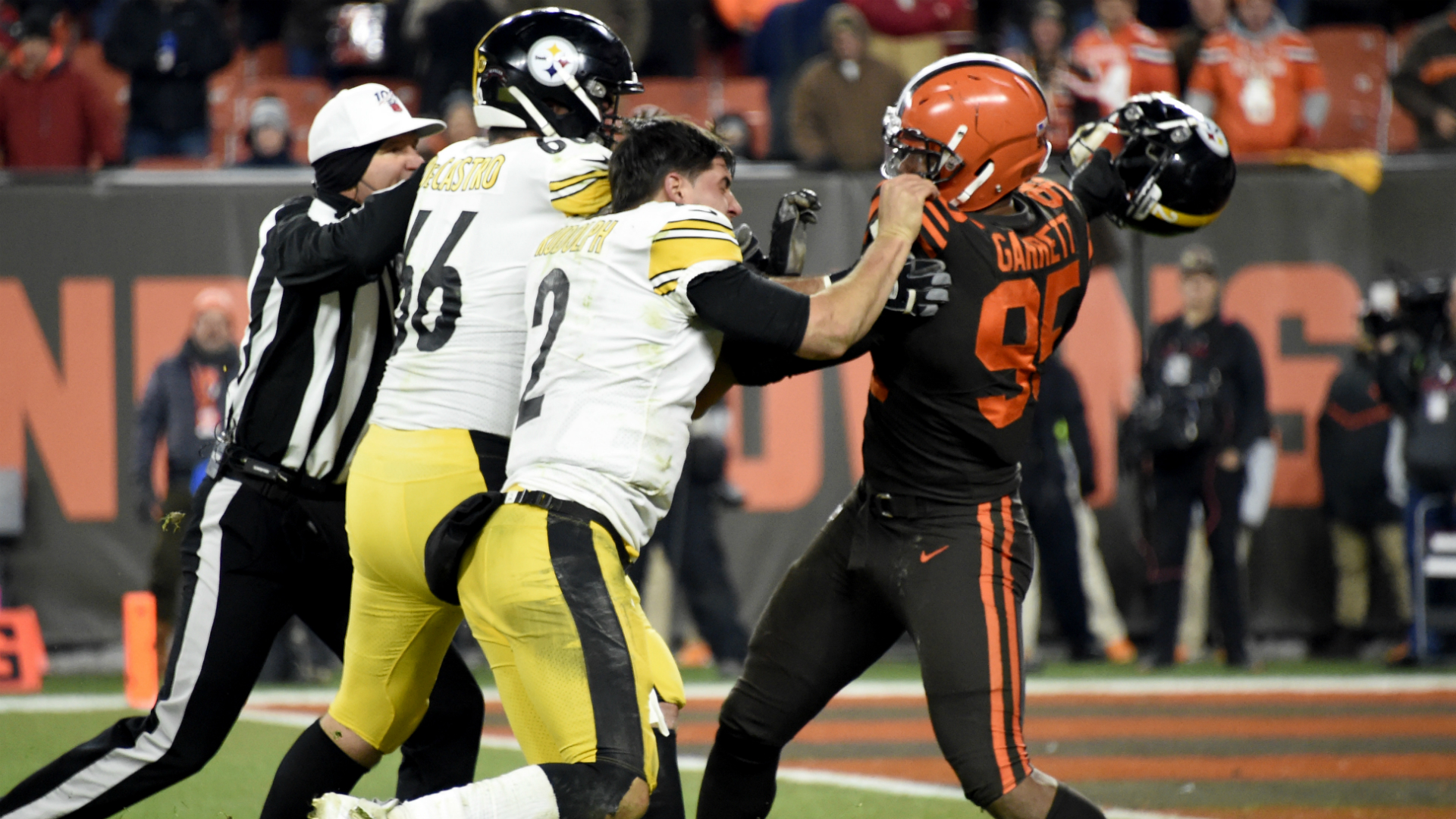 Revisiting the Myles Garrett-Mason Rudolph helmet incident on Thursday Night Football