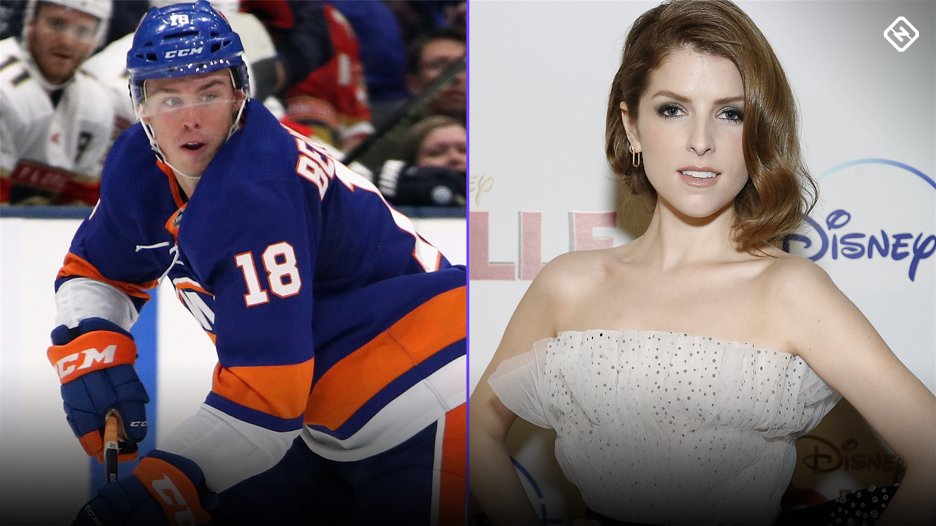 New York Islanders' Anthony Beauvillier shoots his shot with Anna Kendrick — and Twitter plays wingman