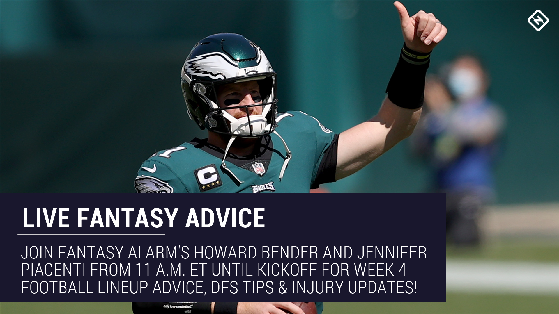 Live Week 4 Fantasy Football Advice: Injury updates, start 'em sit 'em, NFL DFS tips, more 1