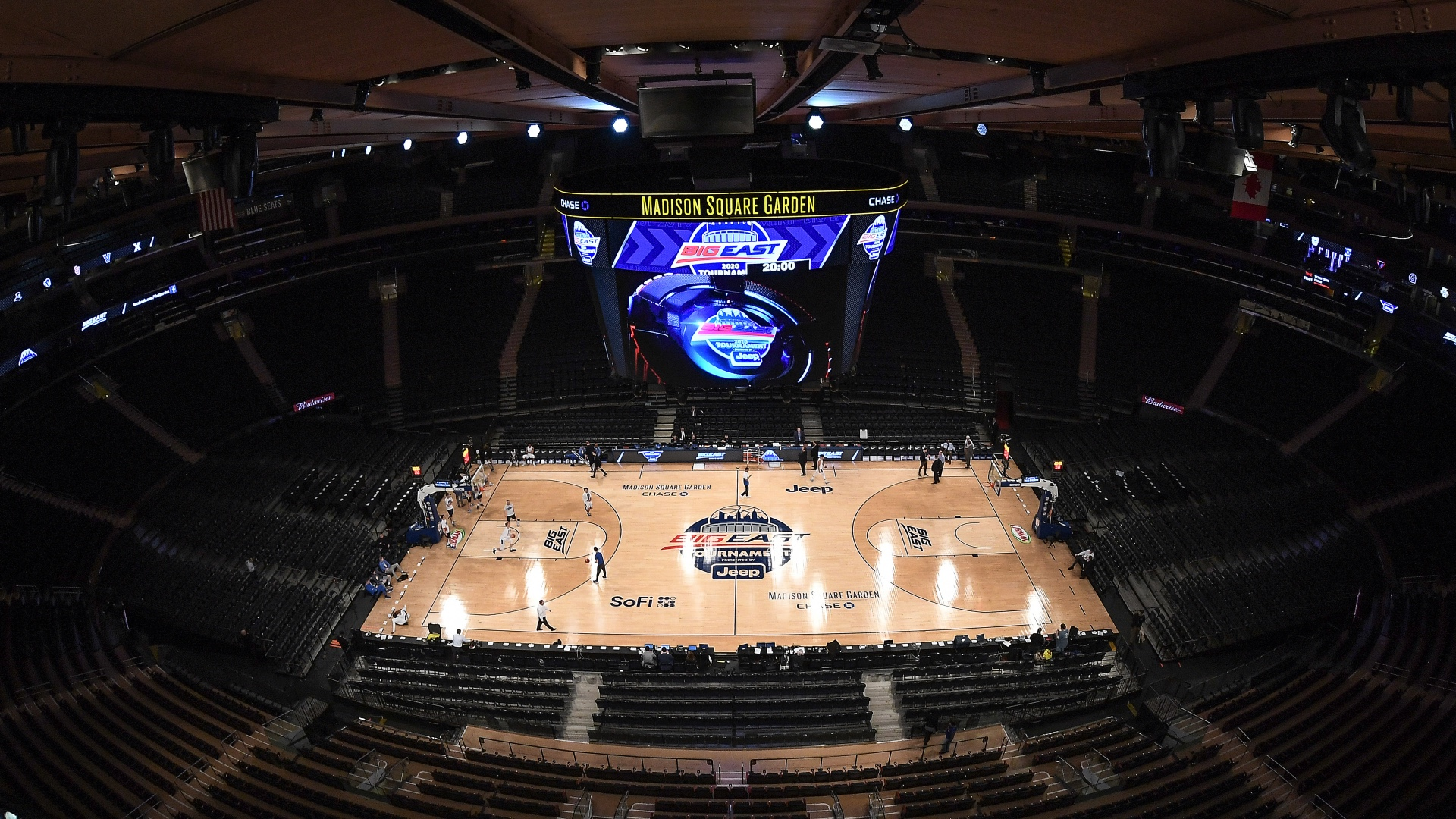 A year after pandemic shutdown, Big East returns to Madison Square Garden — with its magic intact