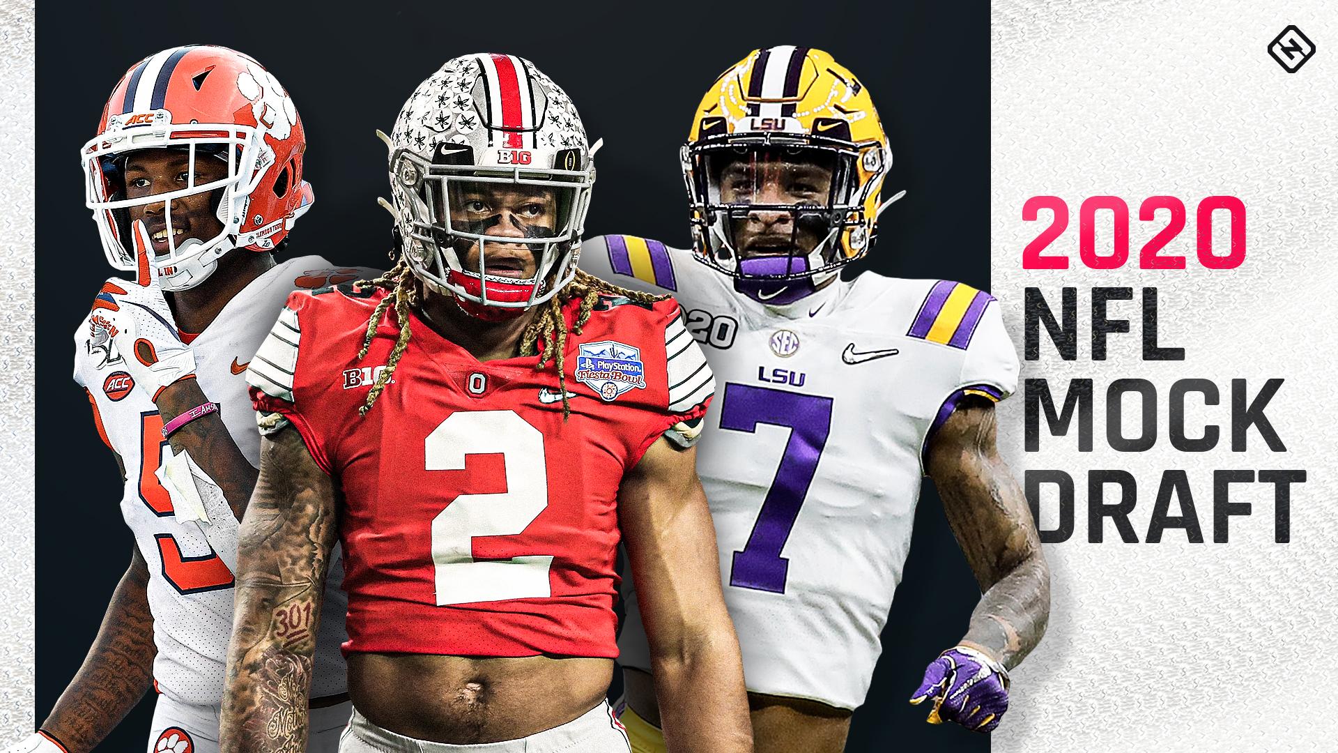 Draft simulado de la NFL 2020: los resultados de la combinación sacuden las selecciones de primera ronda para Cowboys, Packers, Browns, otros 26