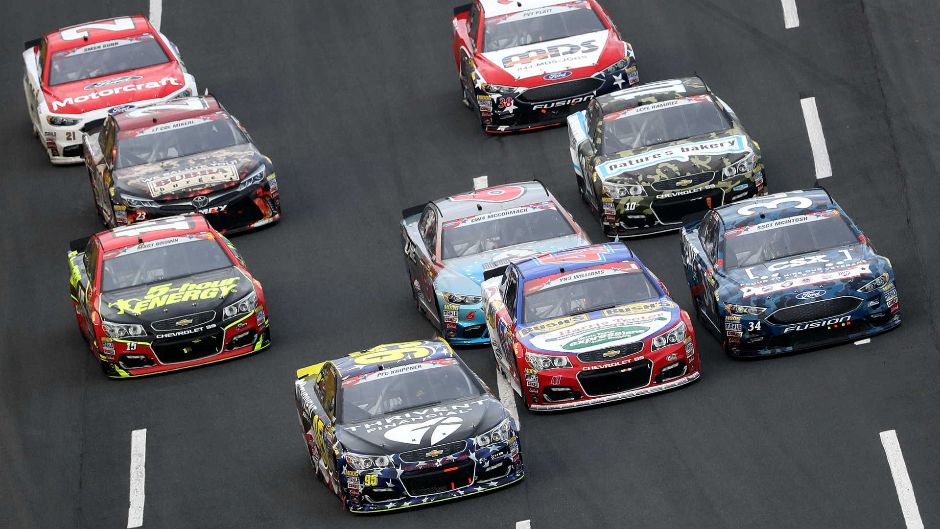 NASCAR announces May 17 return to racing; Cup Series to double up at Darlington, Charlotte 1