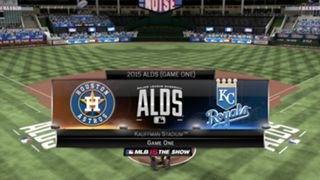 MLB 15: The Show ALDS Astros vs Royals