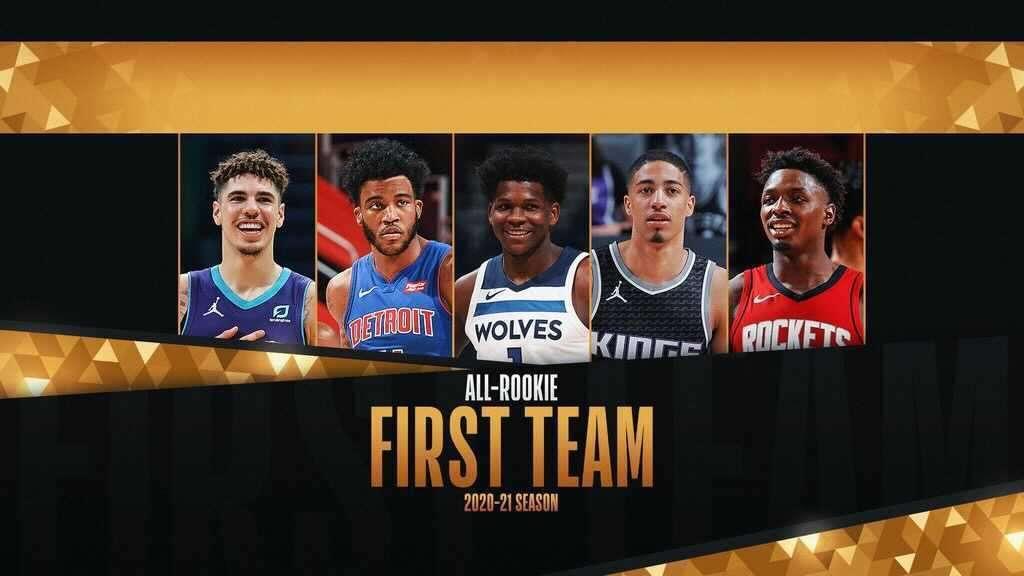 2020-21 NBA オールルーキチーム