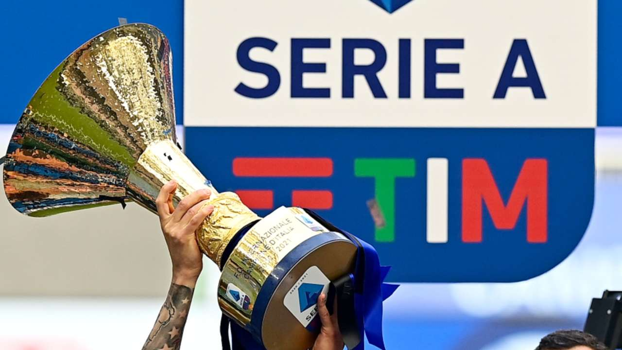 Serie A - trophy - Italy - May 2021
