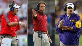 Hugh Freeze-Nick Saban-Les Miles-082816-GETTY0-FTR