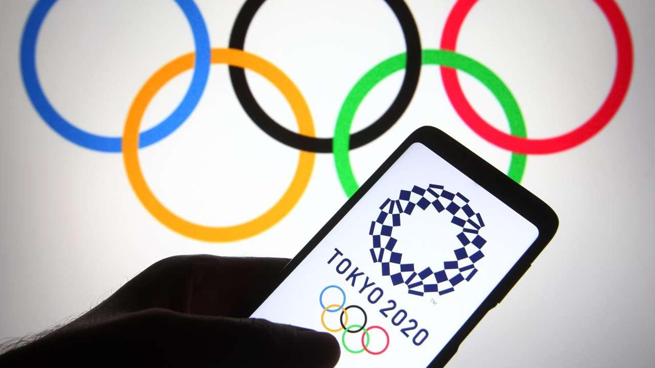 Tokyo Olympics - rings - phone - 2021