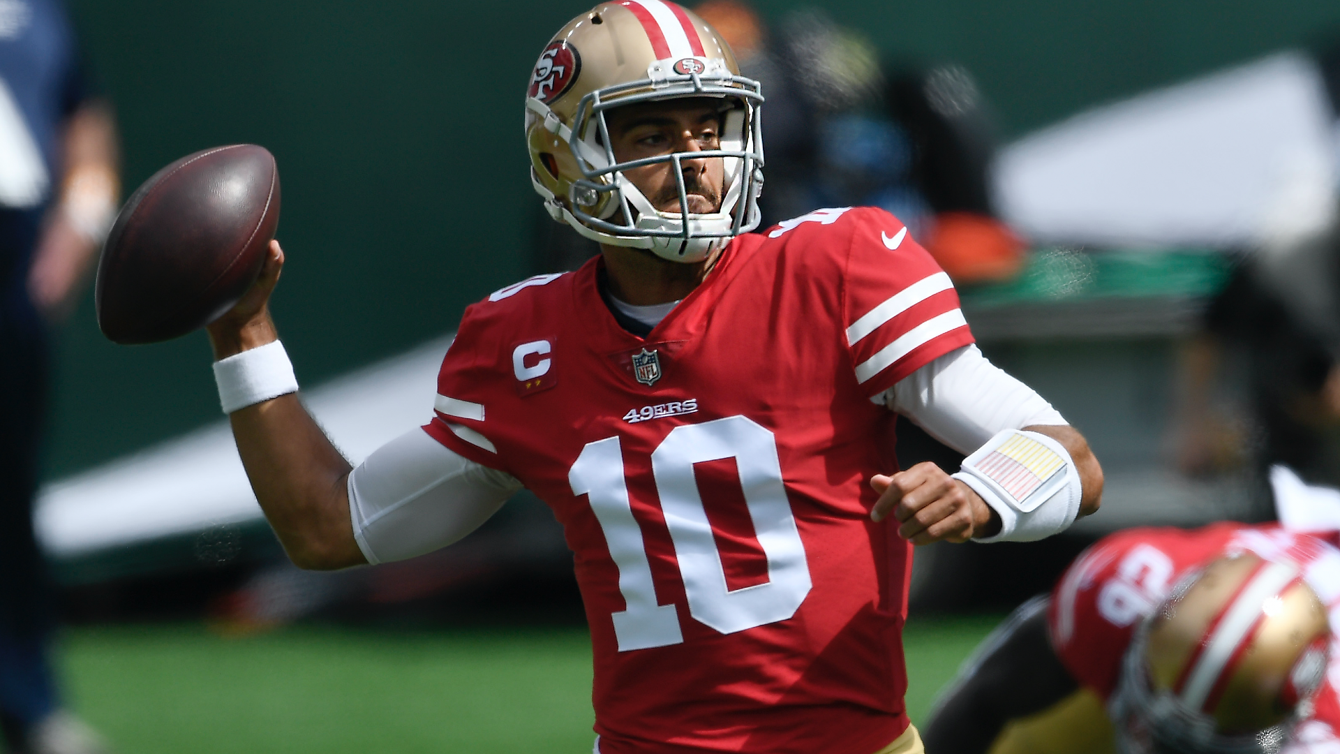 Jimmy Garoppolo injury update: 49ers QB exits Week 8 game with ankle injury