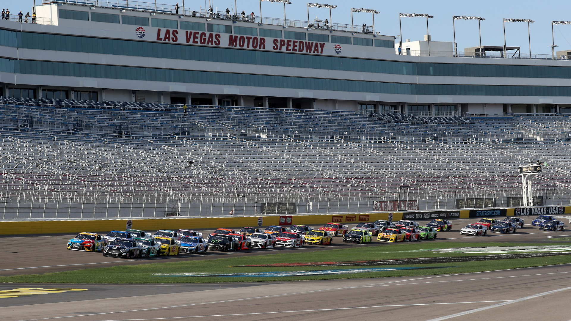 Who won the NASCAR race yesterday? Complete results from Sunday's Las Vegas race