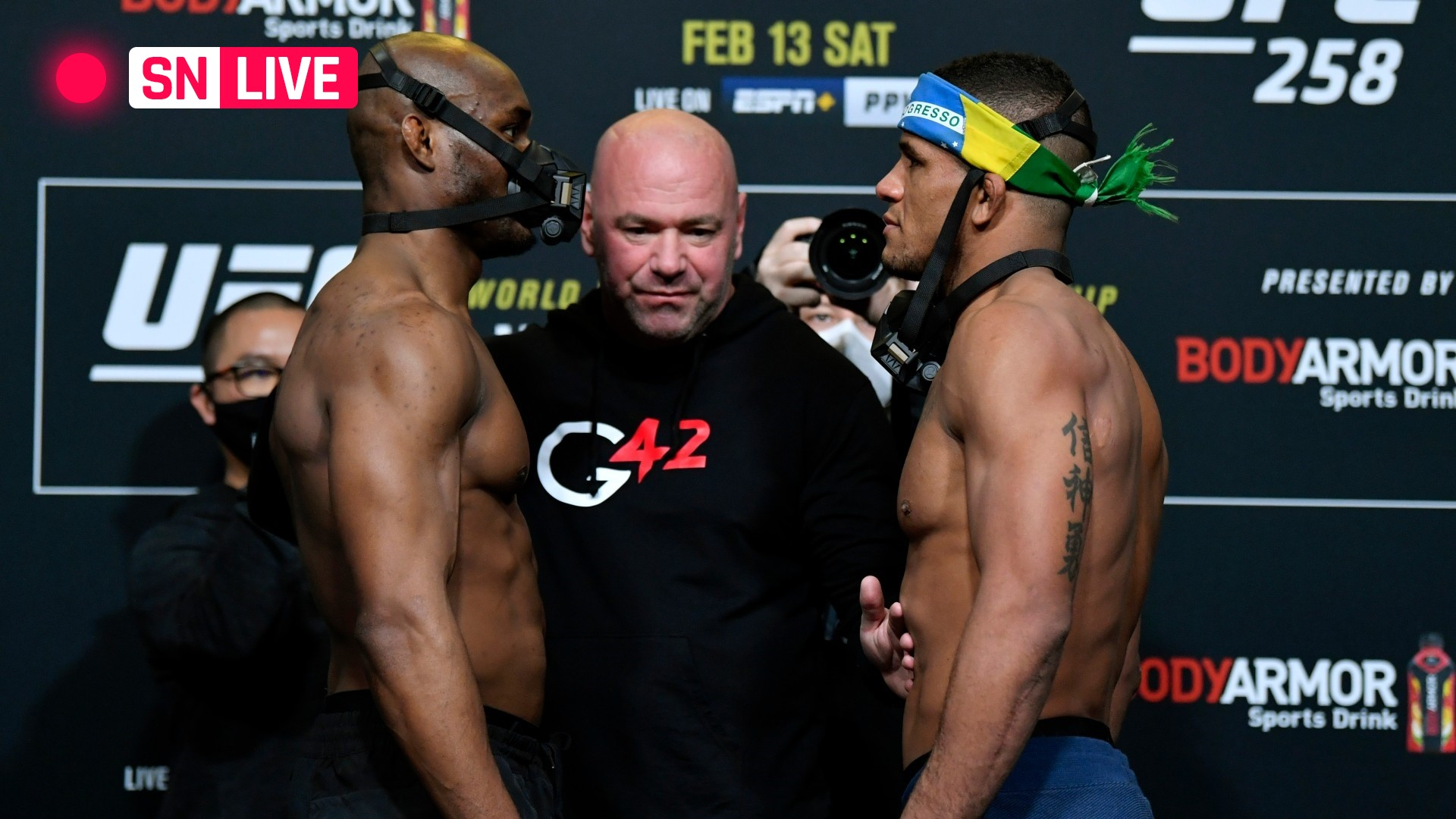 UFC 258 results: Kamaru Usman patiently pulverizes Gilbert Burns, defends title with 3rd-round TKO