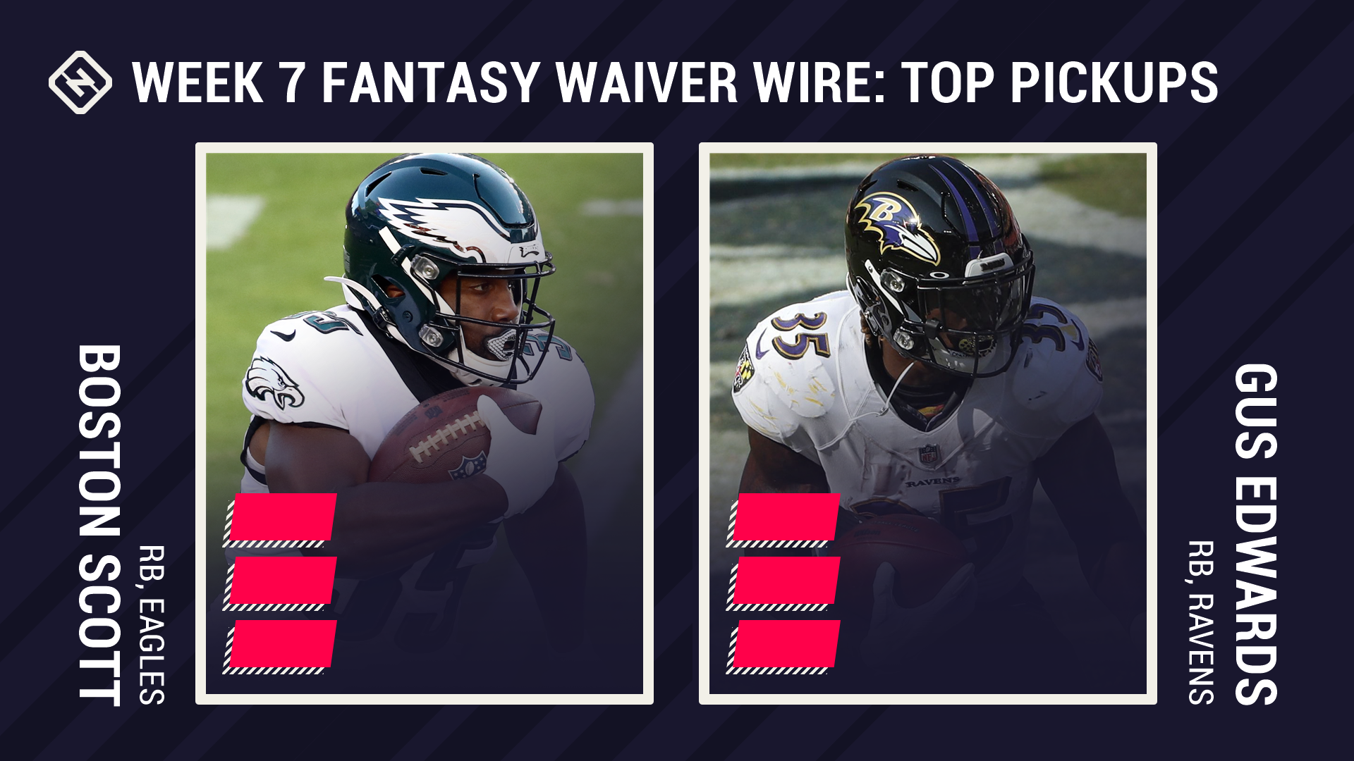 Best Fantasy Week 7 Waiver Pickups: Boston Scott, Gus Edwards among backups who could take advantage of injuries