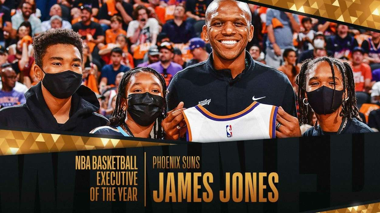 Phoenix Suns General Manager James Jones