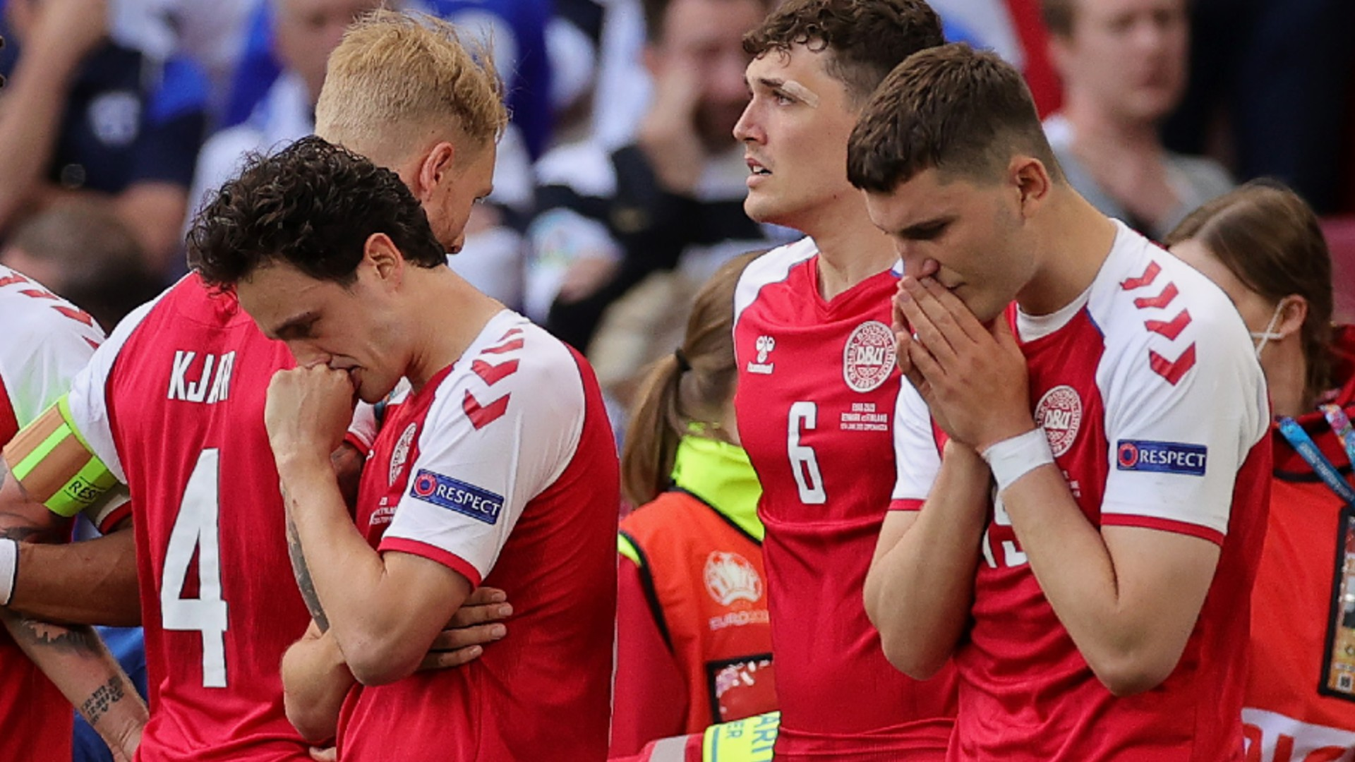 Denmark: UEFA only gave two options to resume the match after Christian Eriksen collapsed