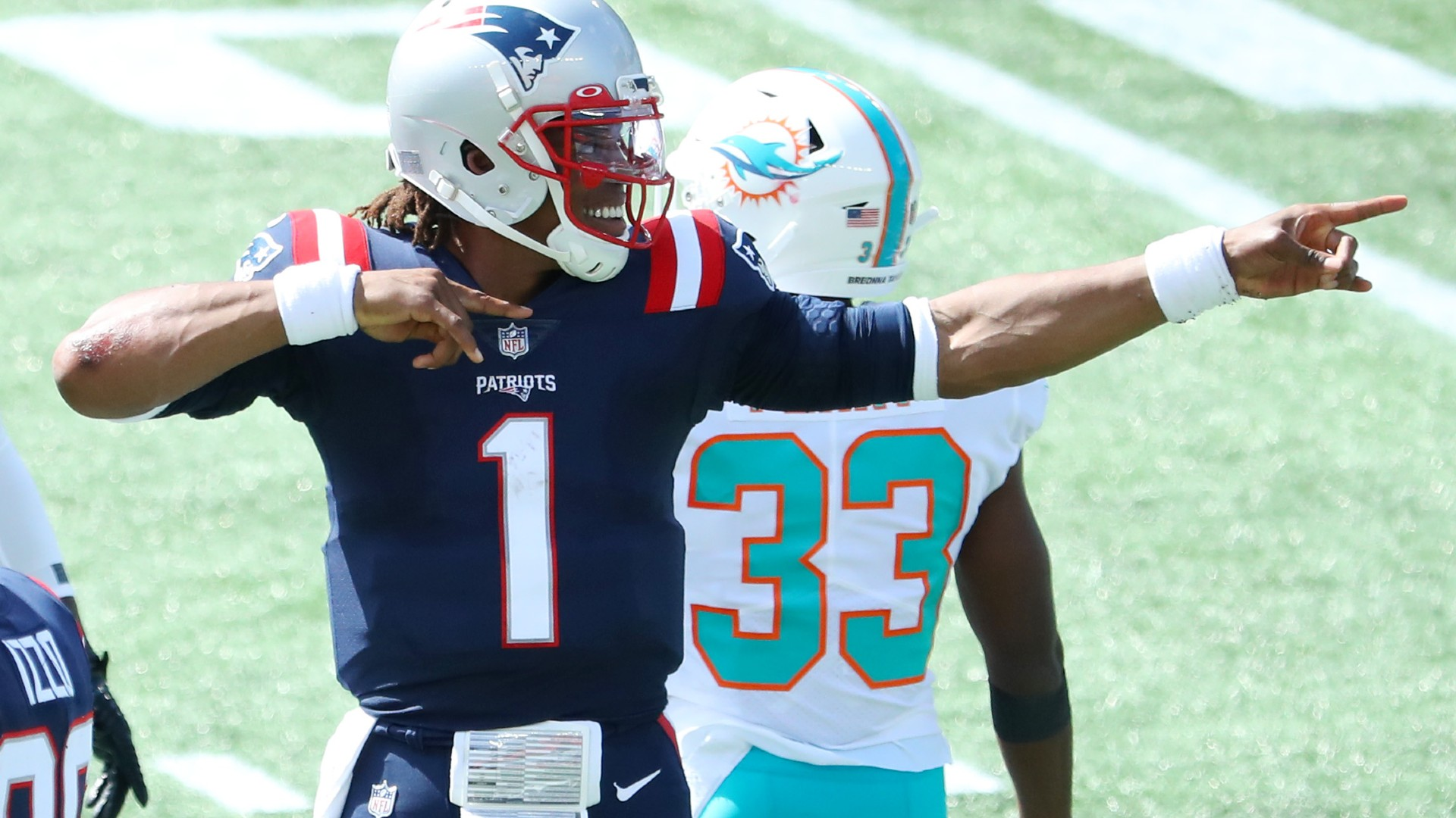 Breaking down Cam Newton's Patriots debut: Flashes of 'Superman,' but questions remain after win over Dolphins 1