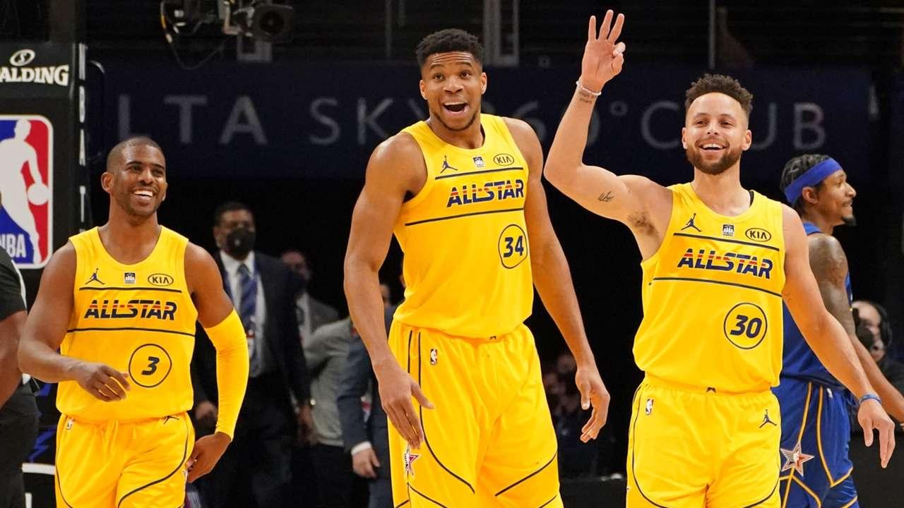 2021年のNBAオールスターゲームはチーム・レブロンが勝利