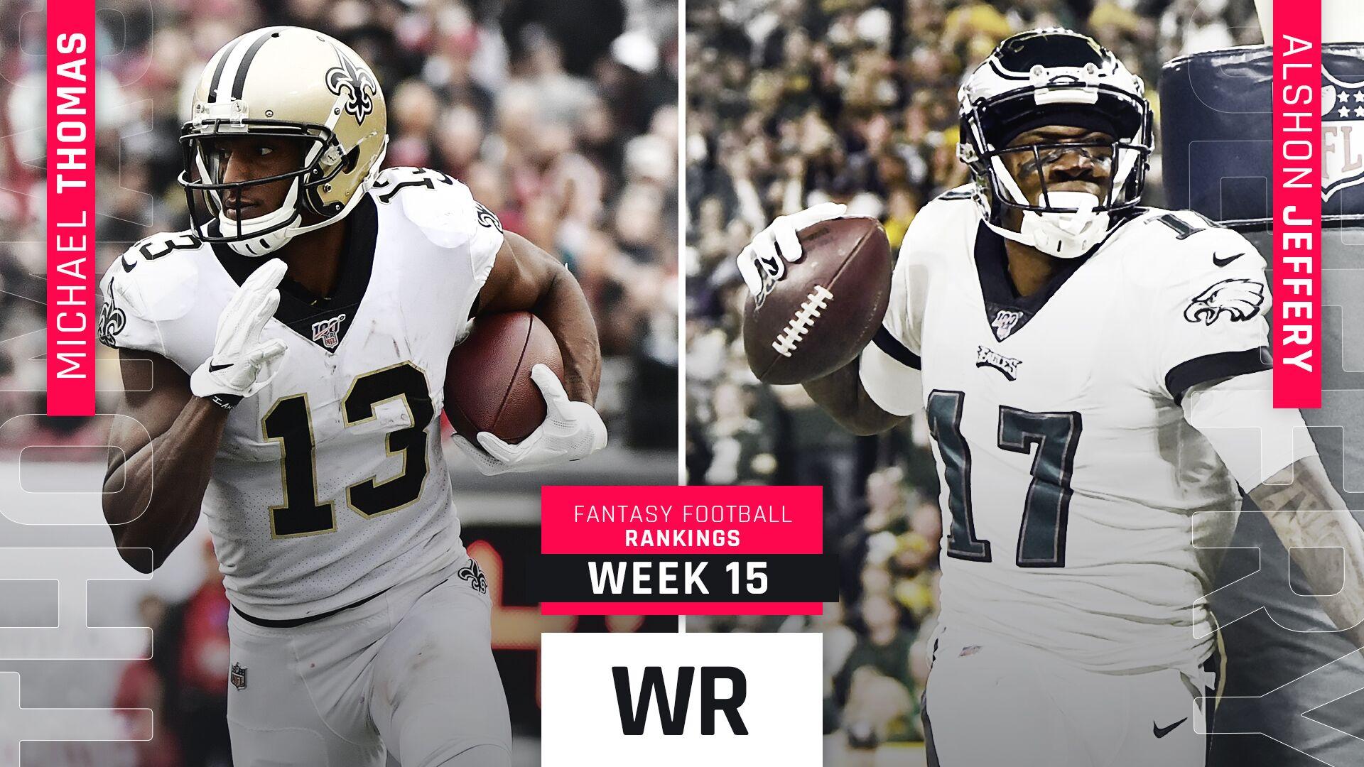 Week 15 Fantasy WR Rankings: Sleepers A.J. Brown, Dede Westbrook among potential playoff heroes