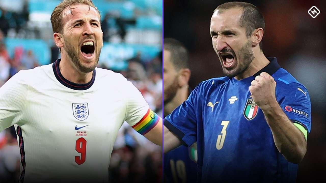 Harry Kane - Giorgio Chiellini - Euro 2021 final
