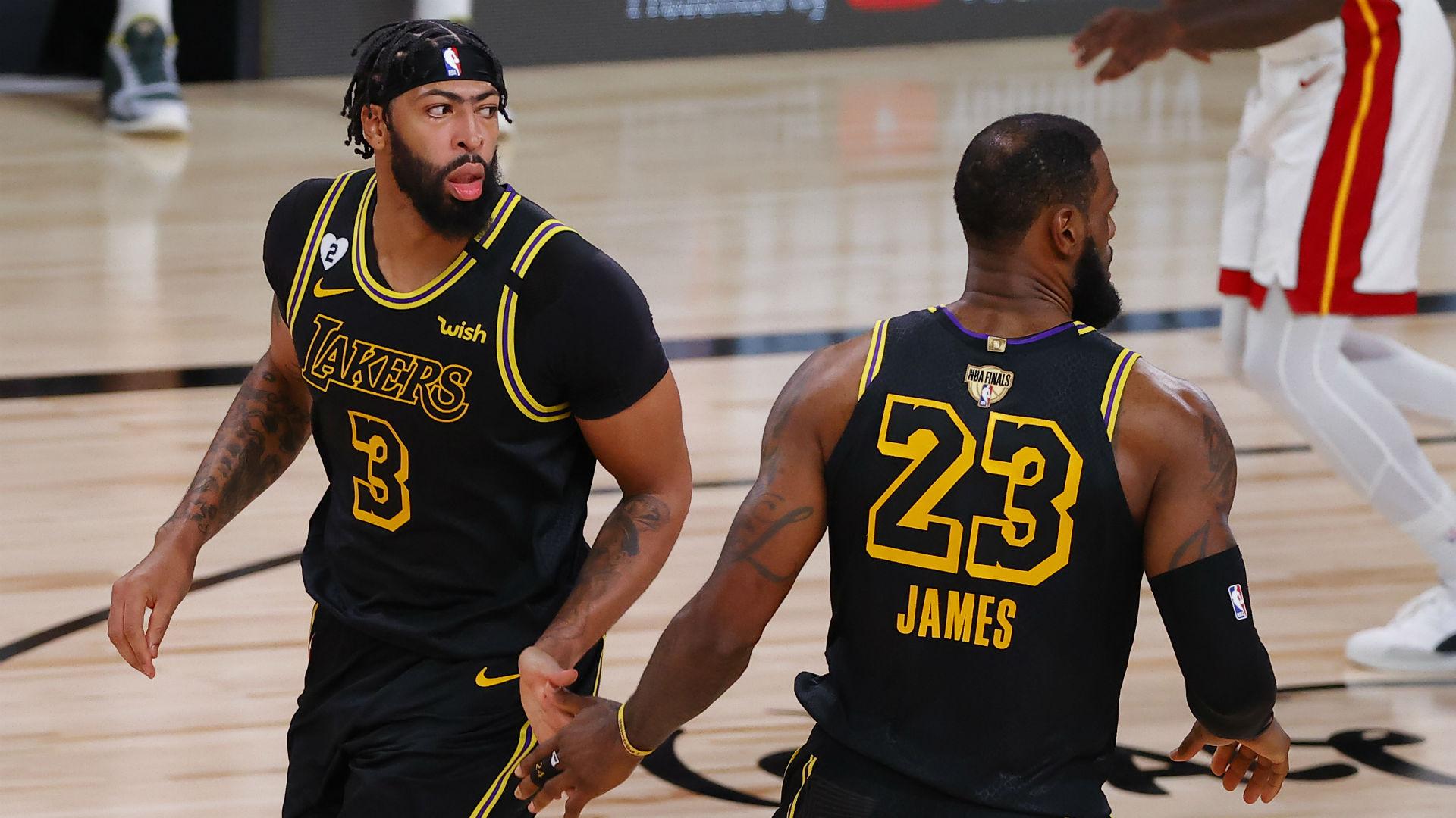 Lakers vs. Heat score, results: LeBron James, Anthony Davis power LA past Miami in Game 2 1