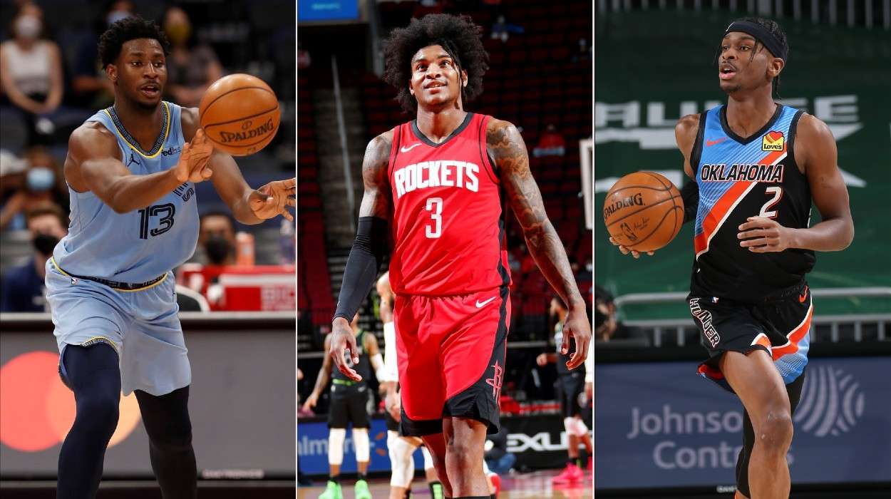 Kevin Porter Jr., Houston Rockets, Nickeil Alexander-Walker, Memphis Grizzlies, Shai Gilgeous-Alexander, Oklahoma City Thunder