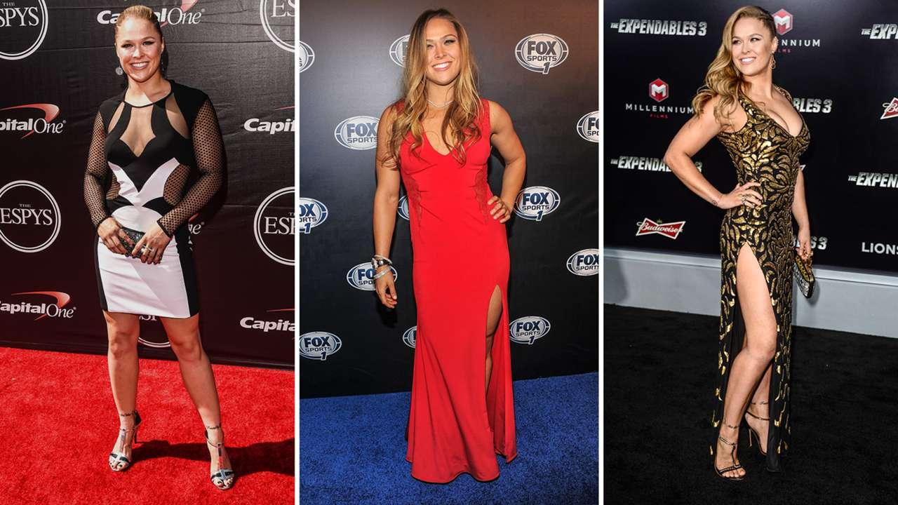 Ronda Rousey, fashion icon? UFC's badass all dressed up