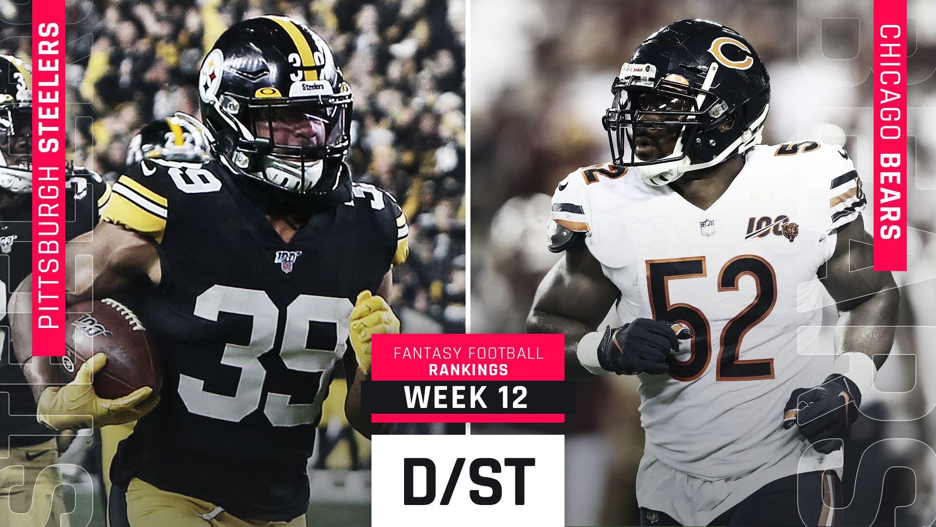 Week 12 Fantasy Rankings: Defense