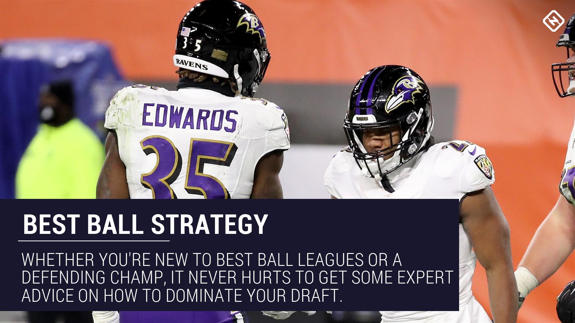 best ball draft strategy 2021