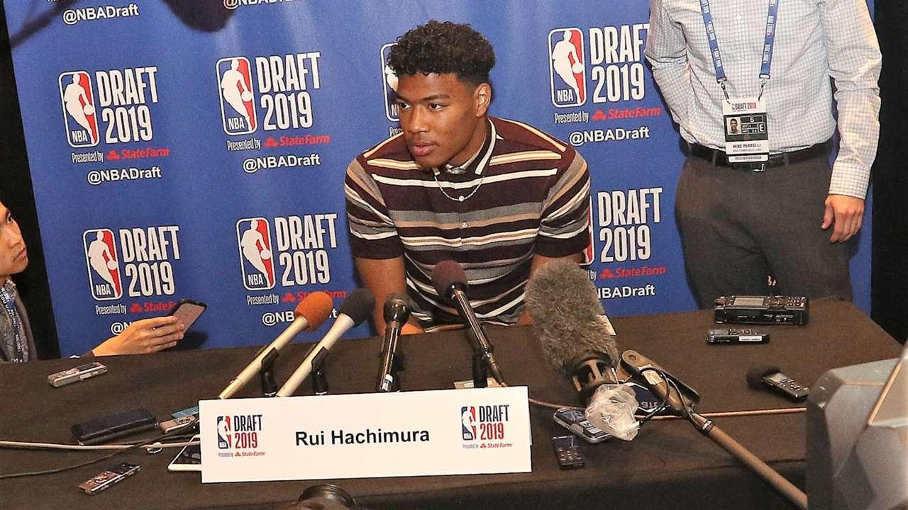 八村塁 Rui Hachimura NBA Draft 2019