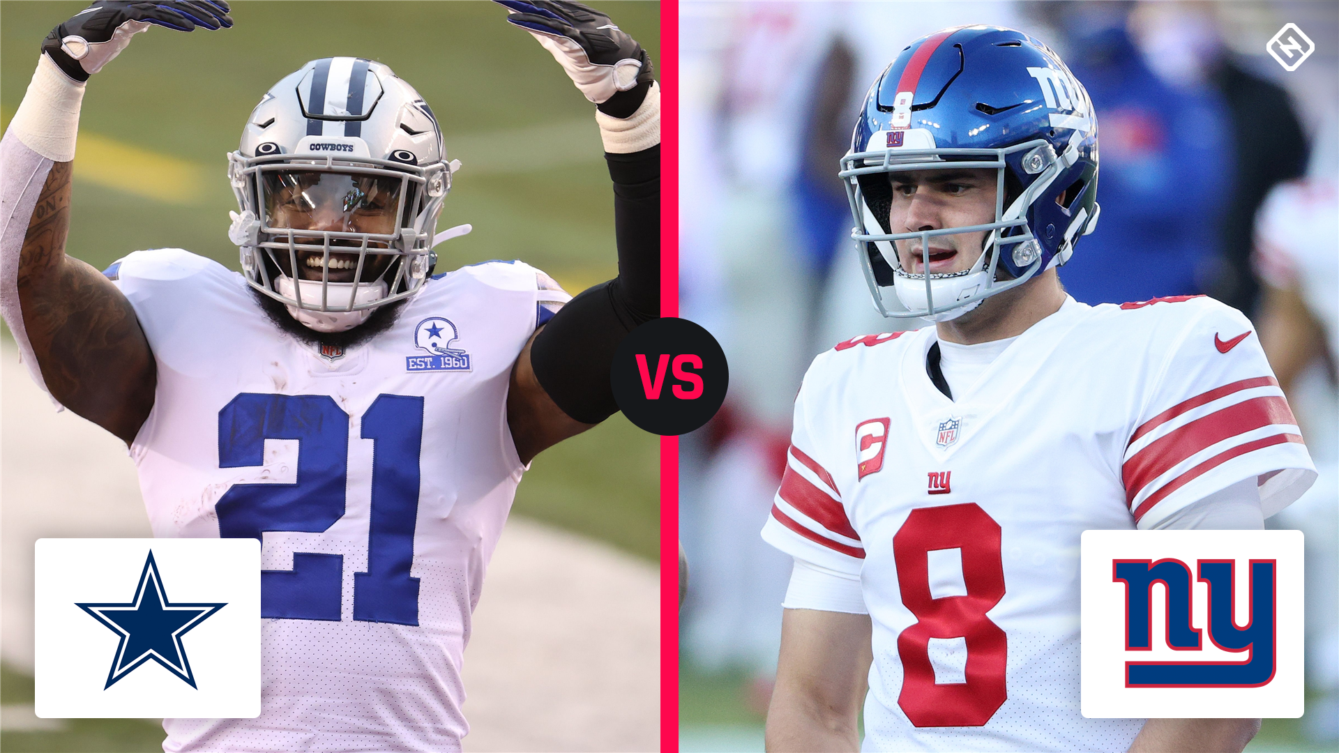 Cowboys vs. Giants coverage map: Where can NFL fans watch the Week 17 game on TV?