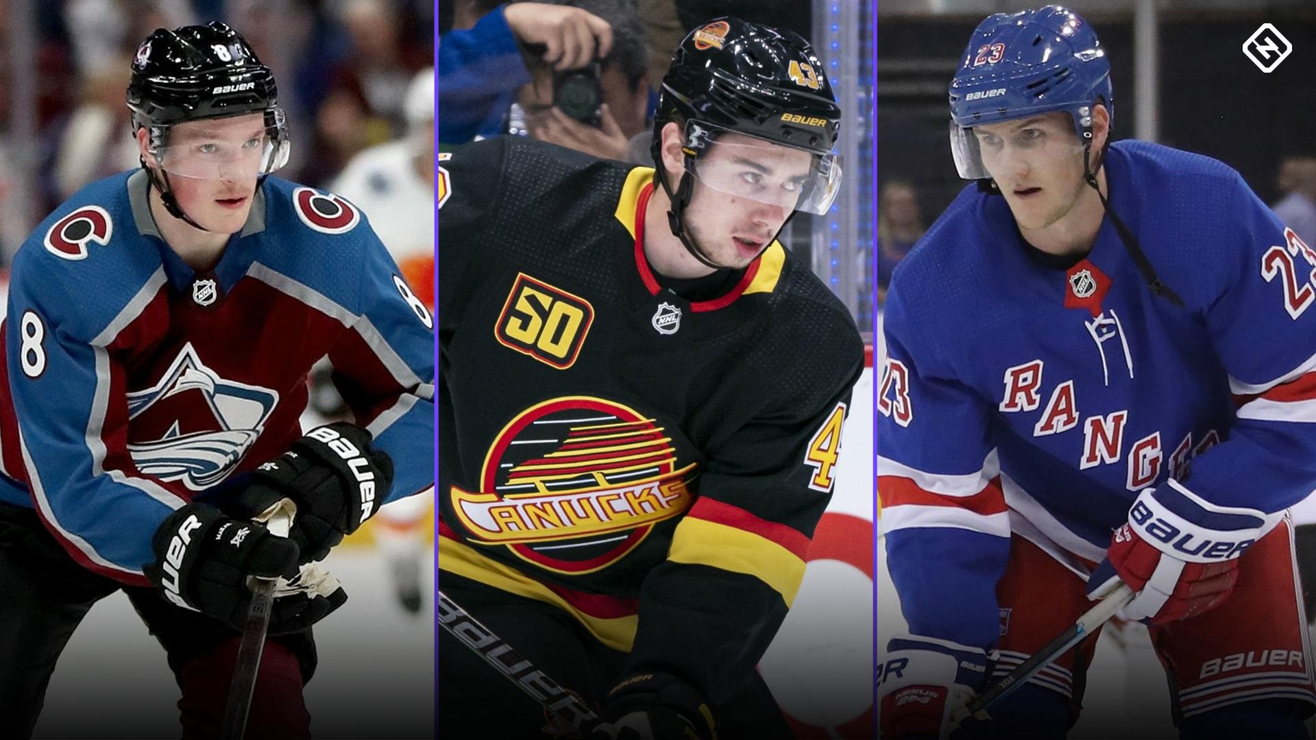 Defensmen Cale Makar, Quinn Hughes and Adam Fox discuss how college hockey prepared them for NHL 1