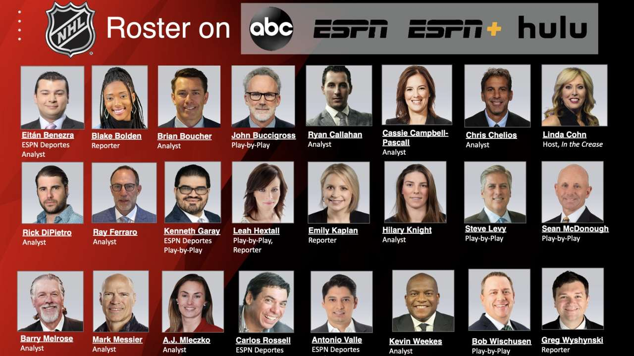 ESPN's NHL broadcasters