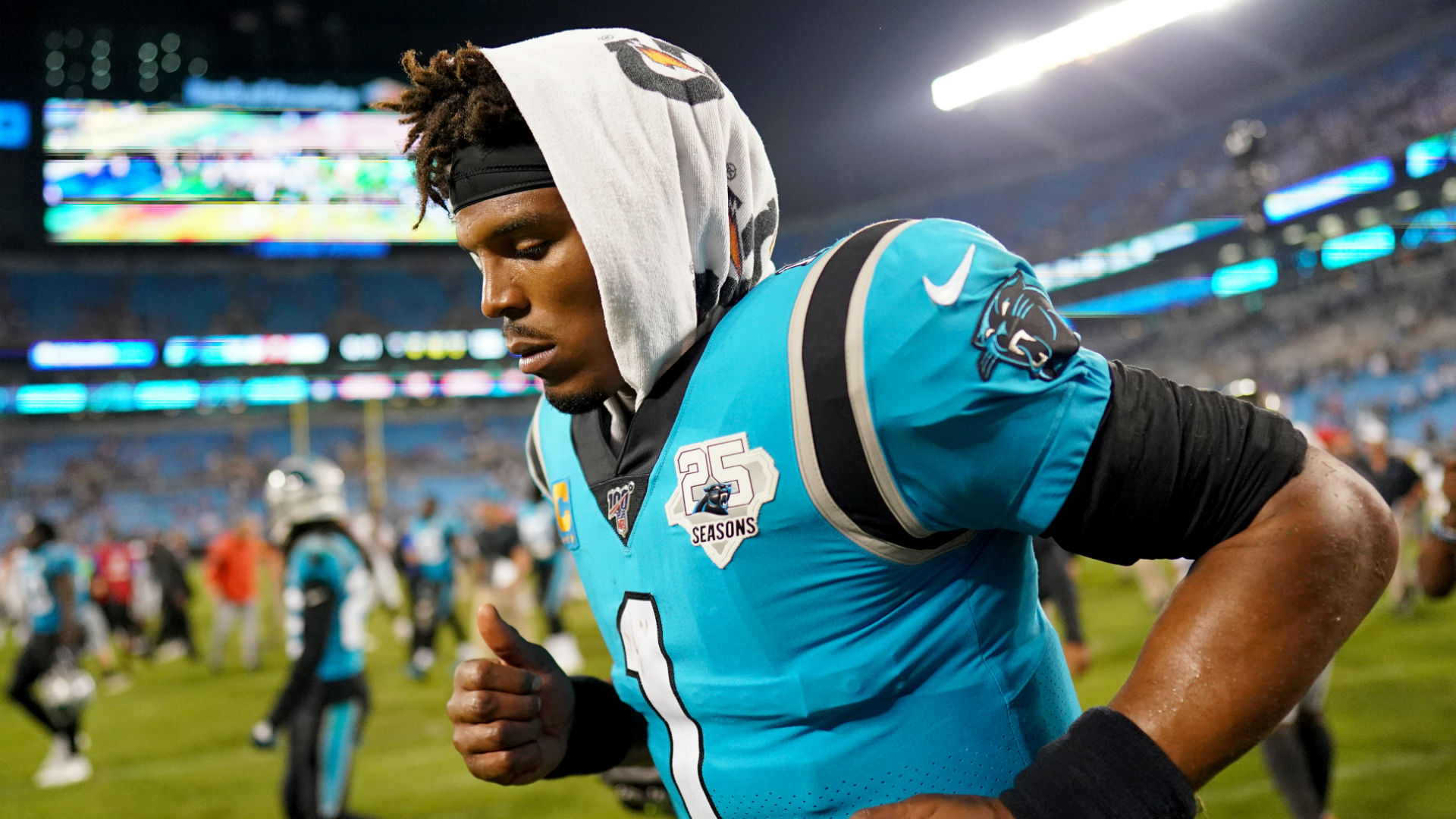 Former Cam Newton teammate says Panthers mismanaged injuries for years: 'They've been doing him wrong' 1