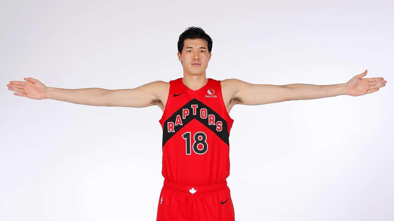渡邊雄太 Yuta Watanabe Raptors 16x9