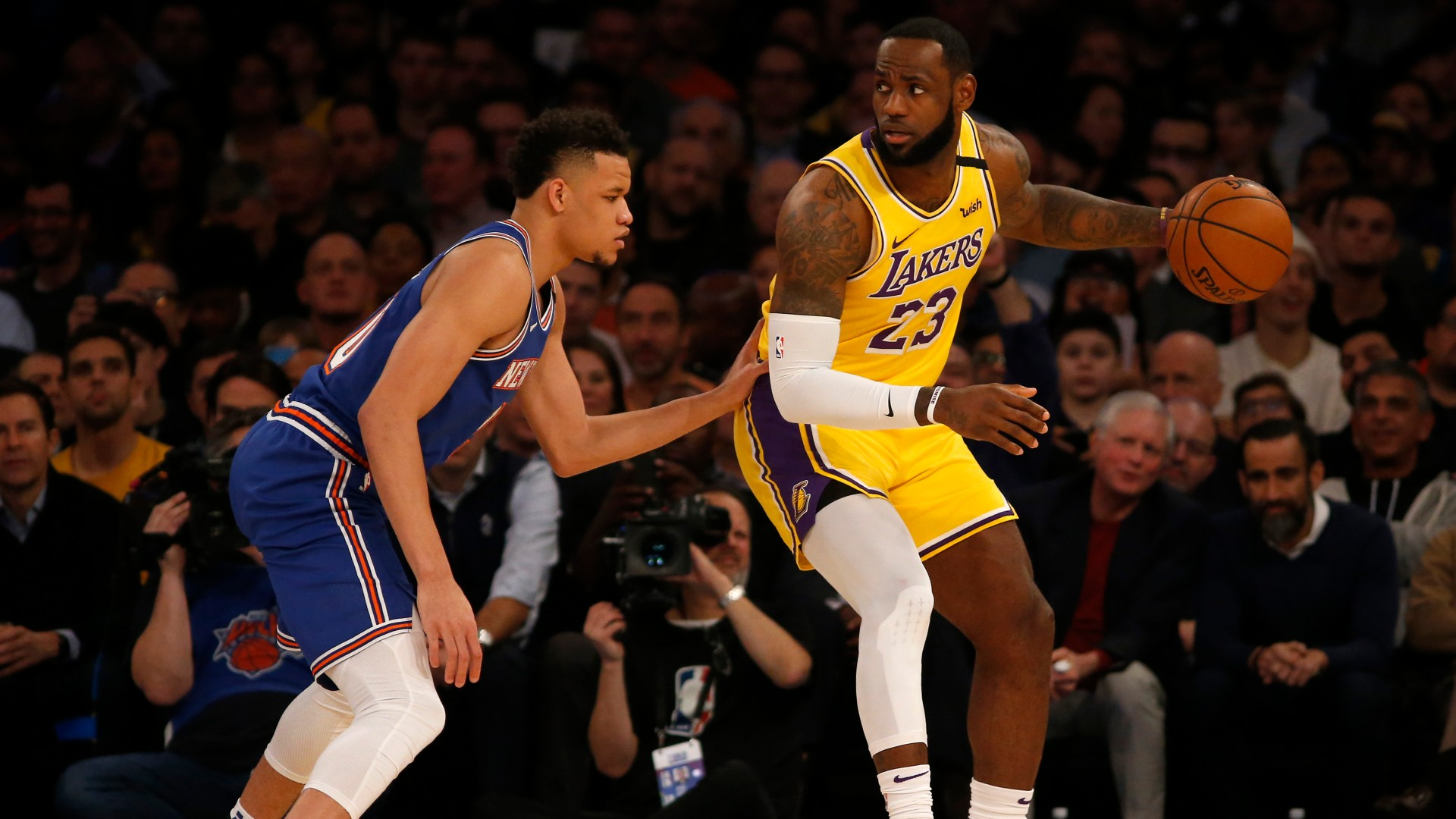 What channel is Knicks vs. Lakers on today? Time, TV schedule, how to watch East vs. West game - sporting news