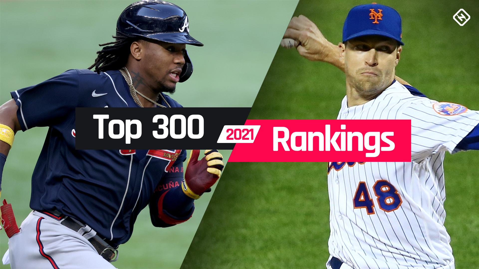 Fantasy Baseball Rankings: Top 300 cheat sheet for 2021